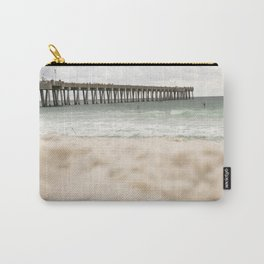 Sand at the pier - Panama City Beach Carry-All Pouch