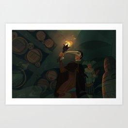 The Cask of Amontillado Art Print