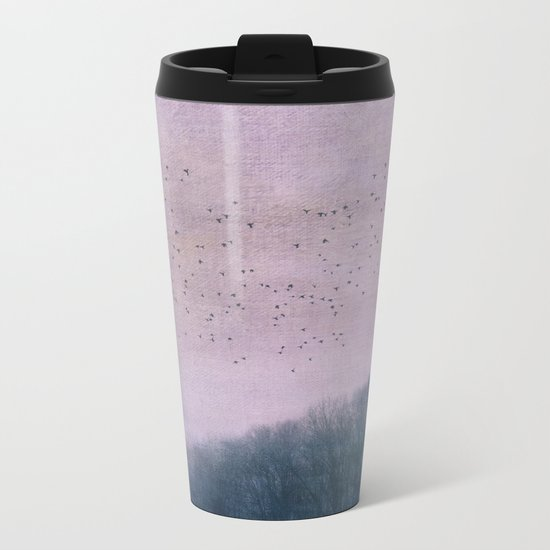 over the Heart of the Forest Metal Travel Mug