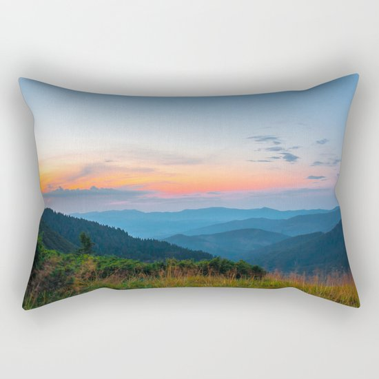 the beauty of the mountains Rectangular Pillow