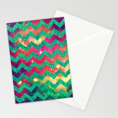 GLITTER SPACE 8 - for iphone Stationery Cards