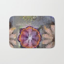 Stickball Au Naturel Flower  ID:16165-150329-07211 Bath Mat