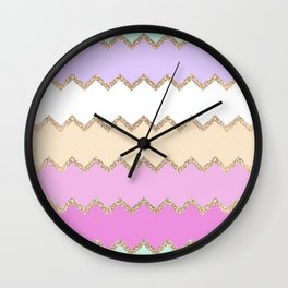 AVALON PINK Wall Clock