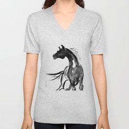 Horse (Ink sketch) Unisex V-Neck