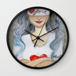 Urban Girl Wall Clock