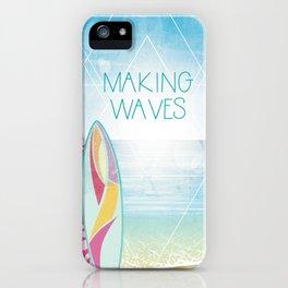 Making Waves - Sunset iPhone Case