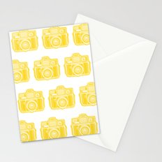I Still Shoot Film Holga Logo - Sunshine Yellow Stationery Cards