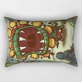 WINDMILL SHOWDOWN Rectangular Pillow