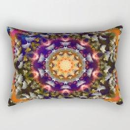 mandala from ginko biloba leaves Rectangular Pillow