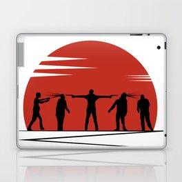 Zombie Controol (Moon headshot) Laptop & iPad Skin