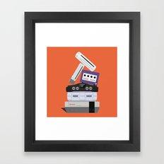 Nintendo Consoles Framed Art Print