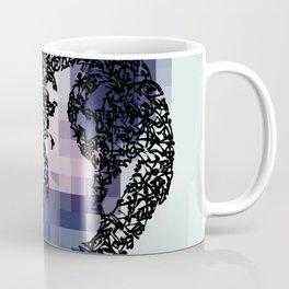 Kanji Calligraphy Art :woman's face #39 Coffee Mug