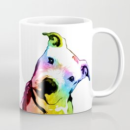 Pit bull | Rainbow Series | Pop Art Coffee Mug