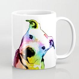 Pit bull   Rainbow Series   Pop Art Kaffeebecher
