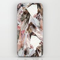 wicked iPhone & iPod Skins featuring Arnsdorf SS11 Crystal Pattern by RoAndCo