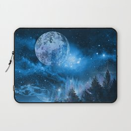 Night forest Laptop Sleeve