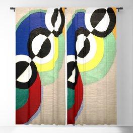 Robert Delaunay - Rythm 1934 Blackout Curtain