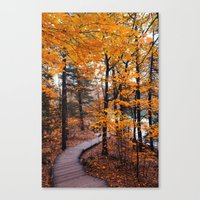 boardwalk empire Canvas Prints featuring Boardwalk by Preappy