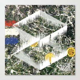 Stone Roses, I am the Resurrection - Soundwave Art Canvas Print