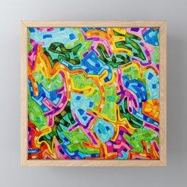 Abstract Graffiti Framed Mini Art Print