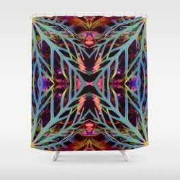Found Colors Pattern Shower Curtain
