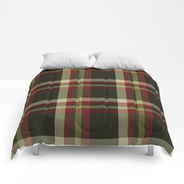 Colors Of Christmas (Plaid) Comforters