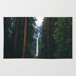 Yosemite Falls - Yosemite National Park, California Rug