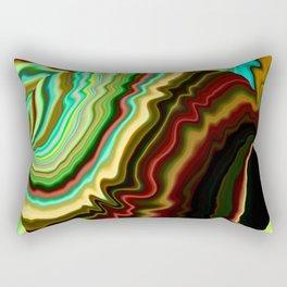 Sound Resonance Rectangular Pillow