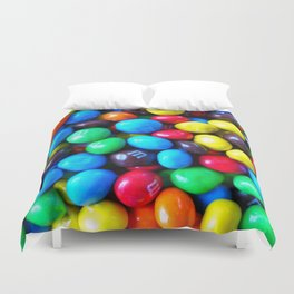 Crispy Colorful Candy Duvet Cover