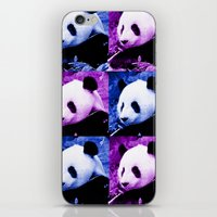 pandas iPhone & iPod Skins featuring Pandas by SwanniePhotoArt