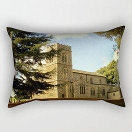 Edgefield Church. Rectangular Pillow