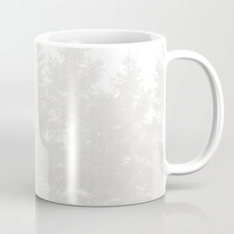 Red Cardinal in a Snowy White Forest Coffee Mug