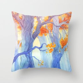 The Long Crossing Throw Pillow