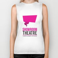 theatre Biker Tanks featuring Showroom Theatre by Chris Andrawes