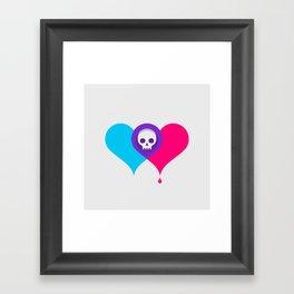 A Death-Marked Love Framed Art Print