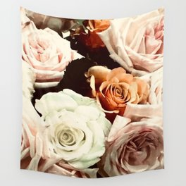Vintage Rose Wall Tapestry