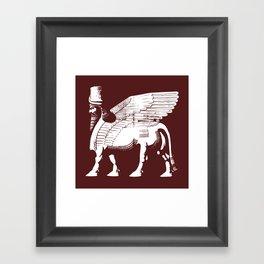 Lamassu Framed Art Print