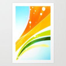 Pattern colori 1 Art Print