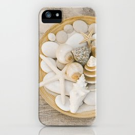Sea Shell Collection Beach Summer Still Life iPhone Case