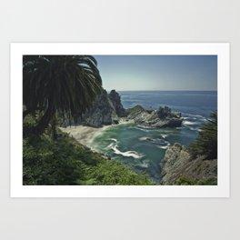 Julia Pfeiffer Burns Beach in Big Sur Art Print