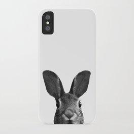 Bunny Selfie iPhone Case