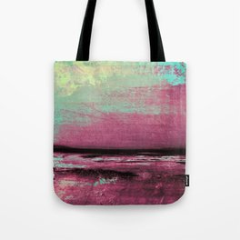 Green Color Patches Tote Bag