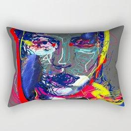 Portrait of an Alien Rectangular Pillow