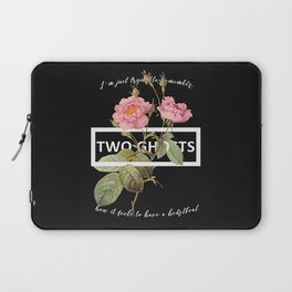 Harry Styles Two Ghosts graphic design Laptop Sleeve