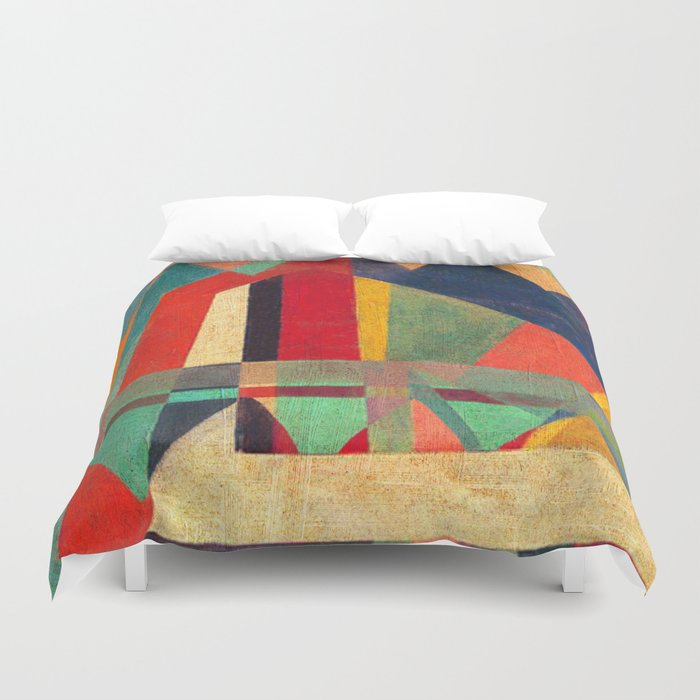 The Road, The Mountain and The River Duvet Cover