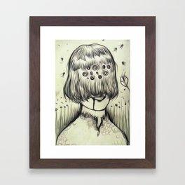 eyeB Framed Art Print