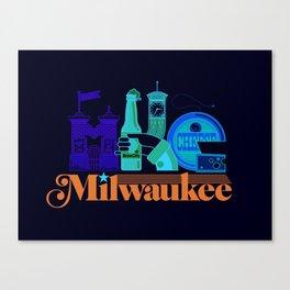 MKE ~ Milwaukee, WI Canvas Print
