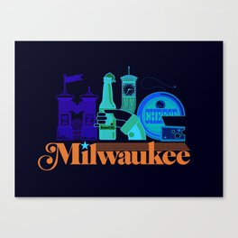 MKE ~ Milwaukee, WI Canvas Print