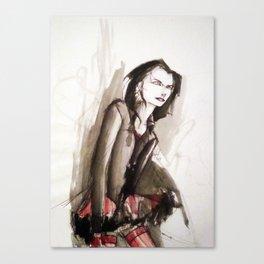 Dhampir in tutu Canvas Print