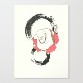 Enso Buddha Canvas Print